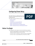 Configuring Frame Relay Cisco Routers