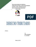 DERECHO TRIBUTARI0