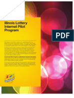 Illinois Lottery Internet Pilot 4-Pager 3-22