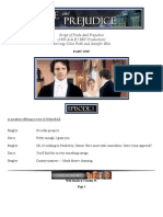 P and P Full Script by Caroline W