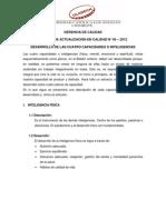 Boletín de Actualización en Calidad N° 05-2012