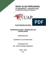 Informe-Tendencias Usos y Abusos de Las Tecnologias