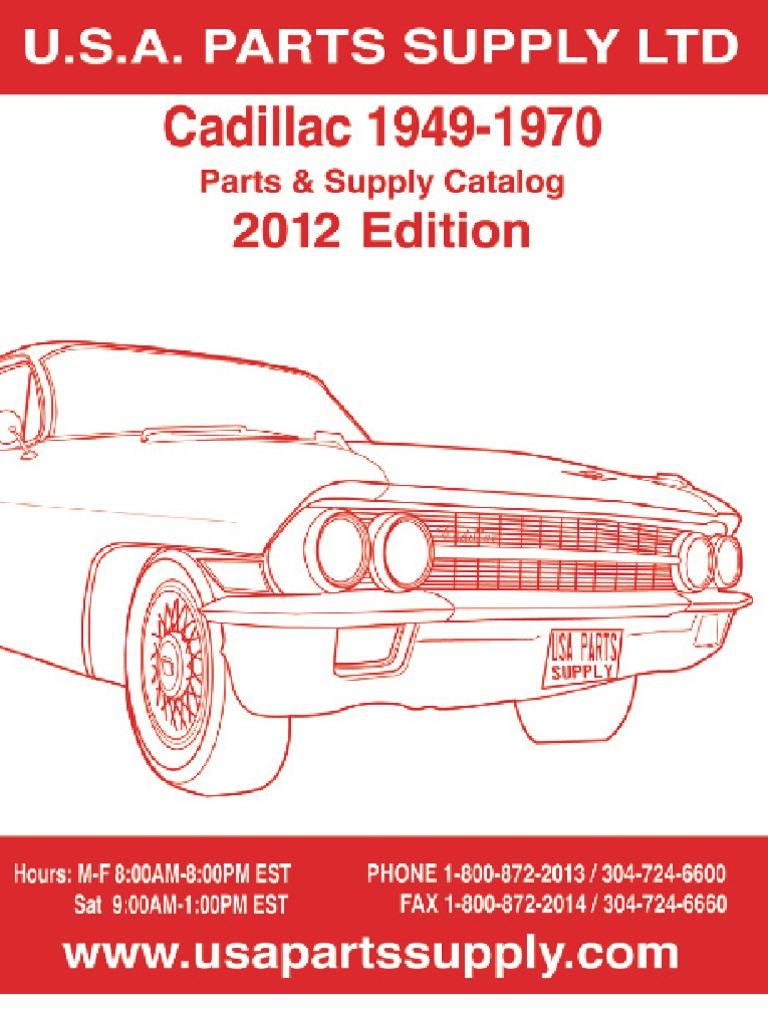 FRONT Brake Rotor Pair of 2 Fits 69-78 Cadillac Eldorado