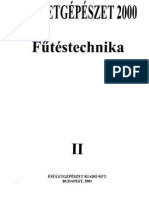 Épületgépészet 2000 - II. Fűtéstechnika