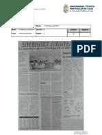 Informe de prensa del 16 al 23 de marzo de 2012