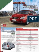 Kia Carnival Brochure