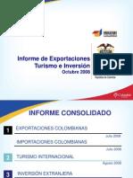 Exportaciones e Importaciones en Colombia