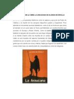 Argumento de La Obra La Araucana de Alonso de Ercilla