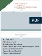 Slide Presentasi Refleksi Kasus