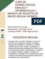DETECCIÓN DE INDICADORES FÍSICOS, EMOCIONALES Y COMPORTAMENTALES