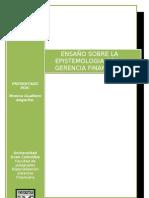 La Epistemologia en La Gerencia (1) (1)