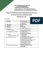 1. Tugas Pengurus Dkm Al-hidayah 2012-2015