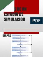Etapas de Un Estudio de Simulacion