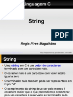 Linguagem c 02 String