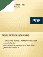 Pert 2 Propositional Logic Copy