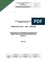 Directiva001-2007