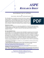 Affordable Care Act Research Brief