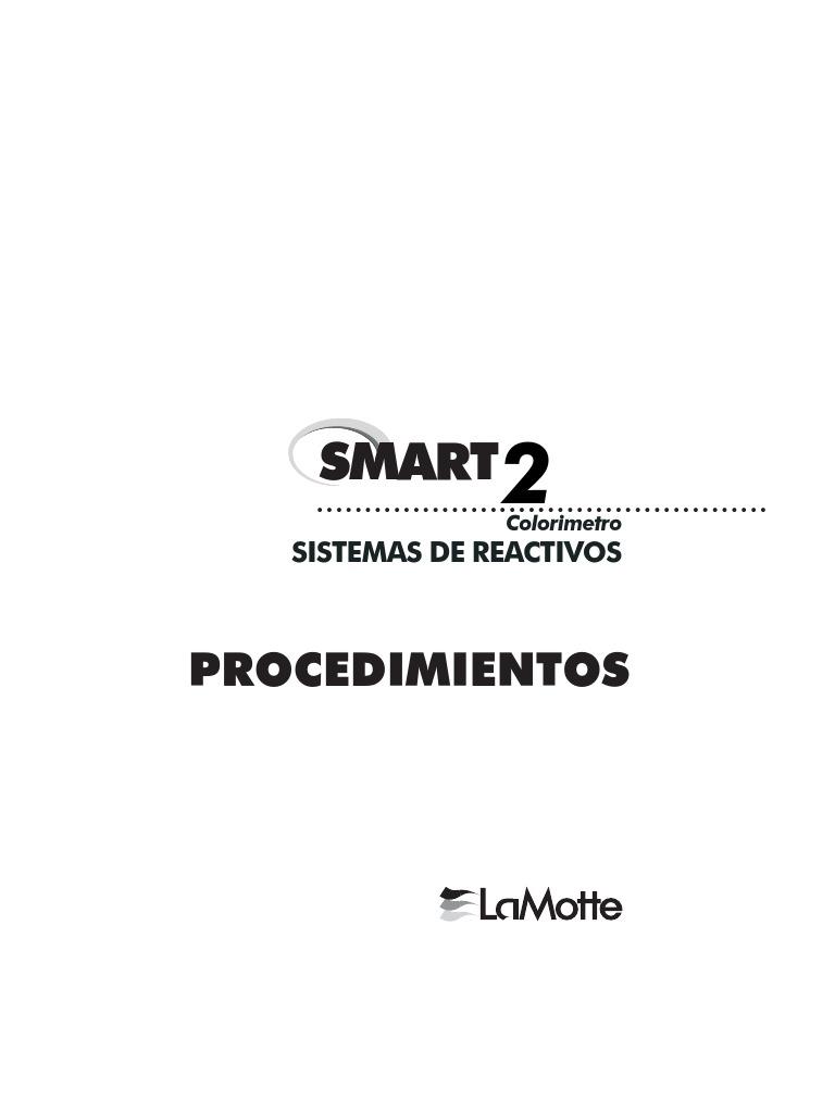 Manual de operacion LaMotte español