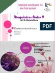 enzimas prostaticas