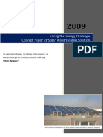 Concept Paper for Solar Water Heating Ver1.0