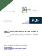 Integration européenne M2 pro RFI blog