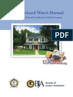 Neighborhood Watch Manual