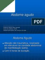 04.Aula de Abdome Agudo