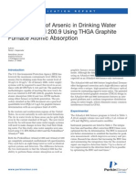 Arsenico en Aguas