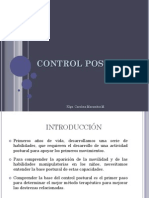 Sesion 7 Control Postural Equilibrio