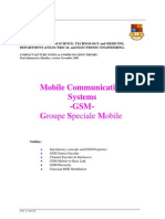 CS Part 3(1) 2001 - Mobile Communication Systems (GSM)