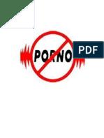 Anuncio de No Porno
