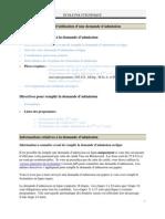 Guide Utilisation Admission Ligne Franc Canada