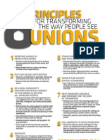 8 Principles Transforming Unions AFL-CIO
