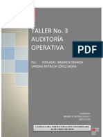 TALLER 3 AUDITORÍA OPERATIVA_SANDRA Y YORLADIS