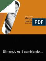 Preparacíon de Curriculo- MANPOWER