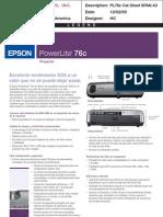 proyector powerlite 76c