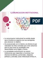comunicacion institucional