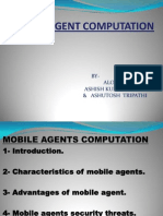 Mobile Agent and Security Threats