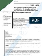 NBR 13276 - 2002 - Argamassa Para Assent Amen To e Revestimento de Paredes e Tetos - Preparo