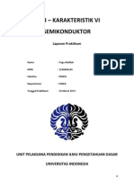 Laporan LR03 Karakteristik VI Semikonduktor