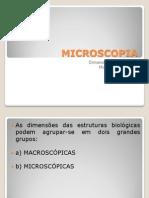 Aula de microscopia
