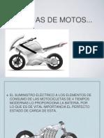 Batería de una motocicleta