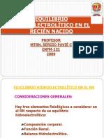 Equilibrio Hidroelectrolc3adtico en El Recic3a9n Nacido