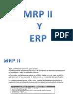 MRP II y ERP