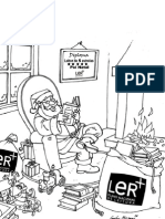 PNL-Cartaz de Natal Para Colorir