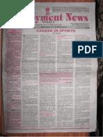 Employment Newspaper online e paper | Rojgar Samachar in Searchable PDF New Delhi Edition 17 – 23 March 2012 Vol. XXXVI No. 51