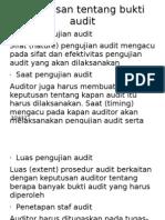 Keputusan Tentang Bukti Audit