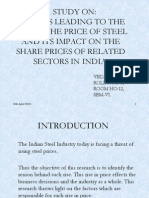 Final Ppt Steel Industry