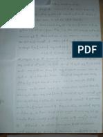 Letter from Daw Khin Win Mar