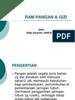 Program Pangan & Gizi